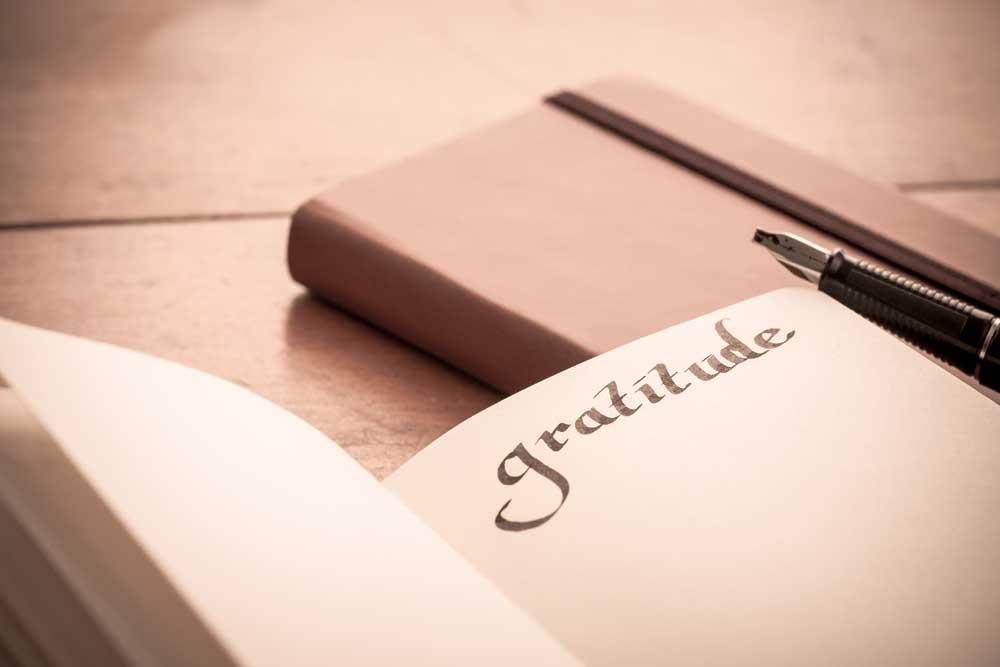 Gratitude Thanksgiving